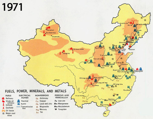 There are so many things going on in China, and it has a lot of people. I'm pretty sure this map is a map of China.