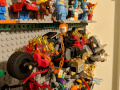 completed lego minifig wall close-up 9