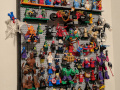 completed lego minifig wall close-up 12